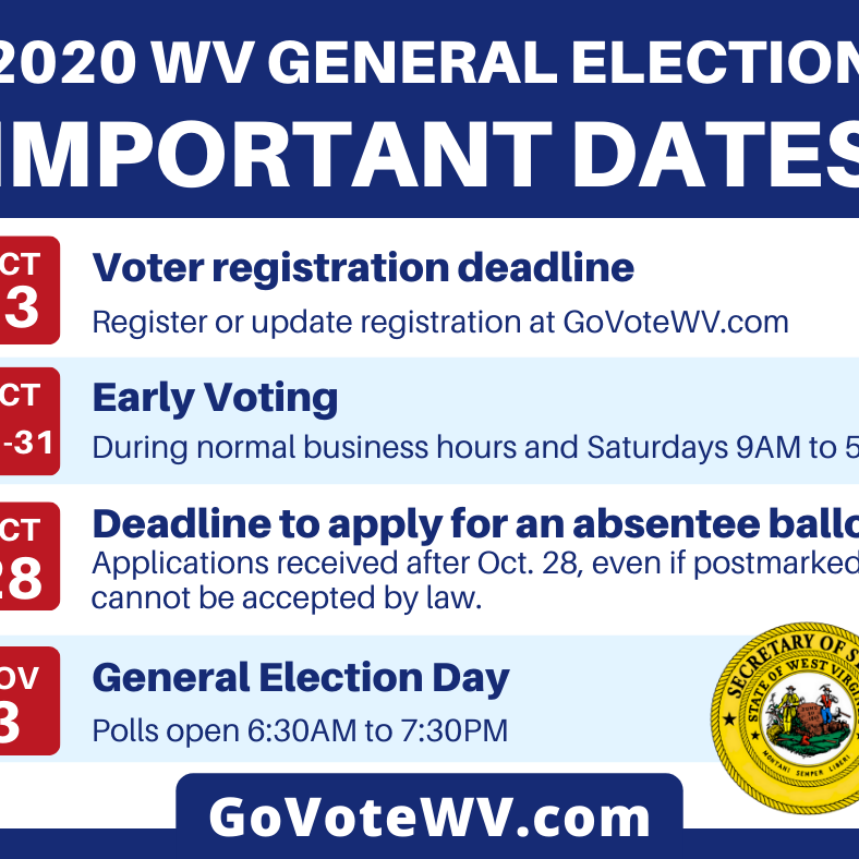 General Election Dates Official