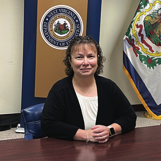 Holly Palmer is one of 10 finalists for the West Virginia School Service Personnel of the Year. She was named Morgan County Schools Service Personnel of the Year in March. photo by Jeff Palmer